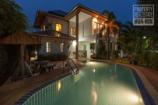 Stunning private swimming pool villa for sale in Hua Hin West (PRHH7276)