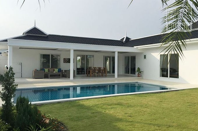 Swimming Pool Villa for Sale In Hua Hin Thailand (PRHH8306)