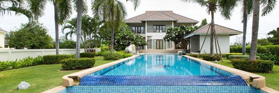 Luxurious Villa On Golf Course Hua Hin Thailand (PRHH8410)