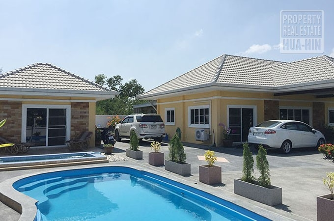 Big Pool House For Sale Hua Hin Thailand Prhh8290