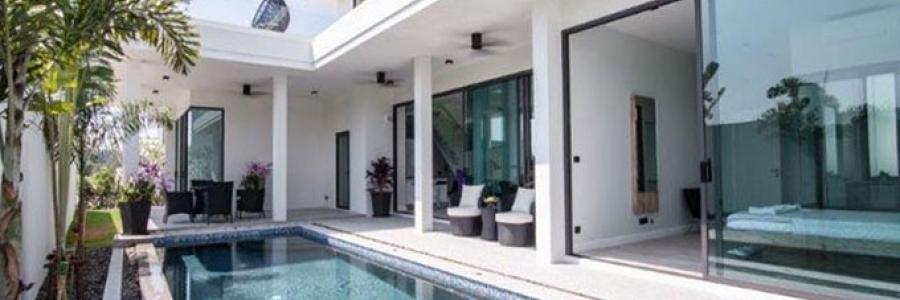 Ultra-modern Swimming Pool Villas for Sale Hua Hin (PRHH8318)