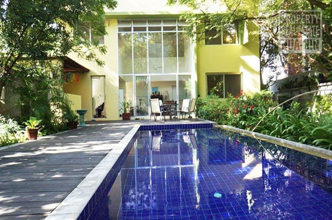 House for sale huahin prhh7694 01 property real estate for Swimming pool close to house