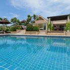 Modern Swimming Pool Villa For Sale Near Hua Hin City Center Views Of Black Mountain (PRHH6708)