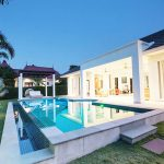 Panoramic Golf Course View Swimming Pool House For Sale In Hua Hin Thailand (PRHH8032)