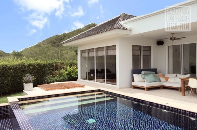 Luxury Swimming Pool Villa For Sale Hua Hin Thailand (PRHH8174)