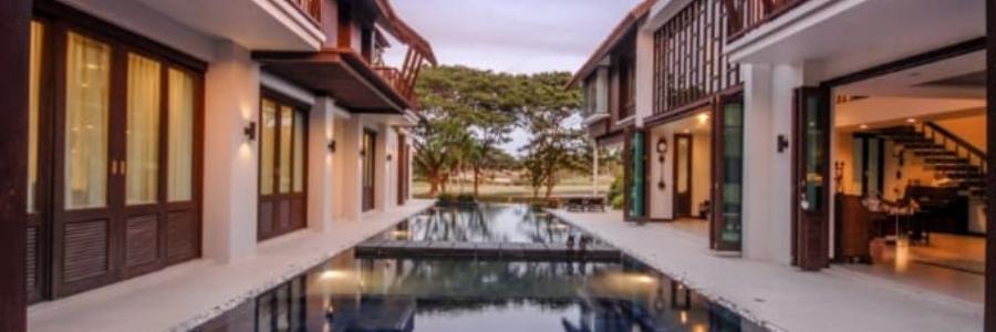 Premium Golf Course Luxury Villa for sale Hua Hin Thailand (PRHH8824)