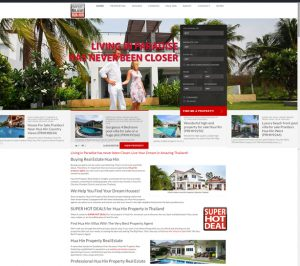 Leading Property website Hua Hin Thailand 2020